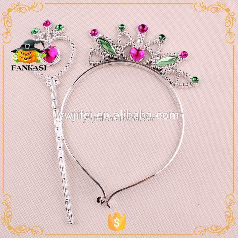 Fashion party head princess crown for girls