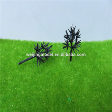 Deciduous model Tree Twisted wire iron tree railway