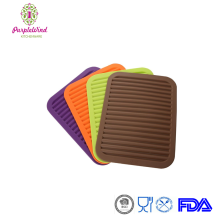 Non-Slip Silicone Tableware Pad Coasters,Pot Holder,food-grade Kitchen Table Mat