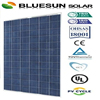 Chinese factory TUV ISO CE full certified 25years warranty poly 280w poly solar panel