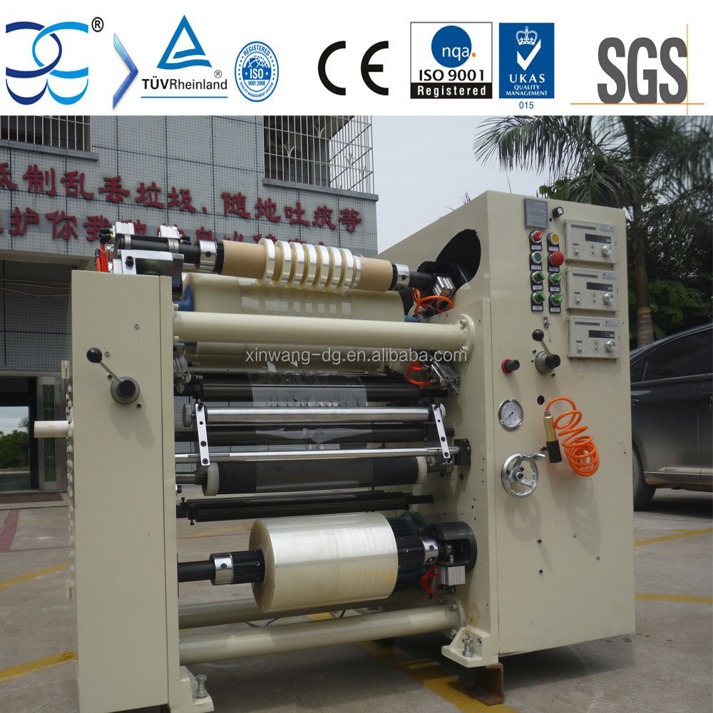 CPP CPE Plastic Film Slitting and Rewinding Machine