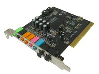 8 channel PCI sound card CHIPSET8768 2 OPTICAL PORT