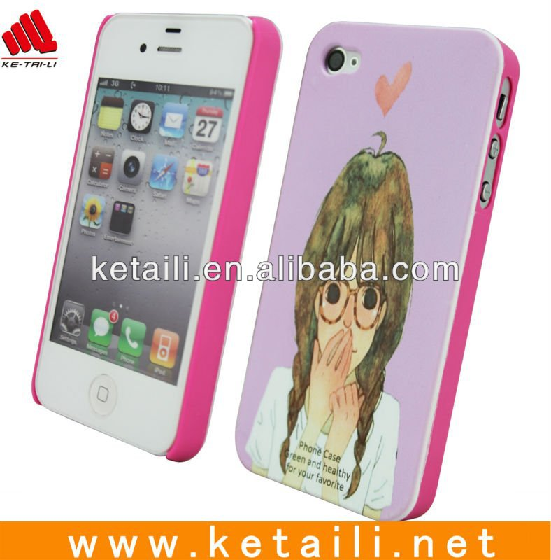 OEM cel phone case for iphone 4