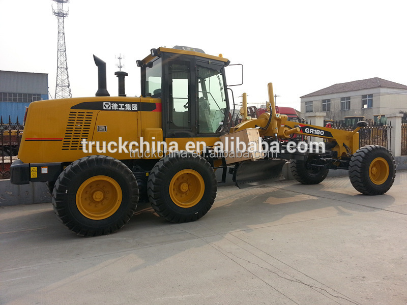 2016 hot exporting China Road machinery 180HP xcmg GR180 motor grader price for sale