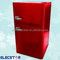 Compact Refrigerator and Freezer, mini cooler price, minibar hotel, Stainless Steel fridge