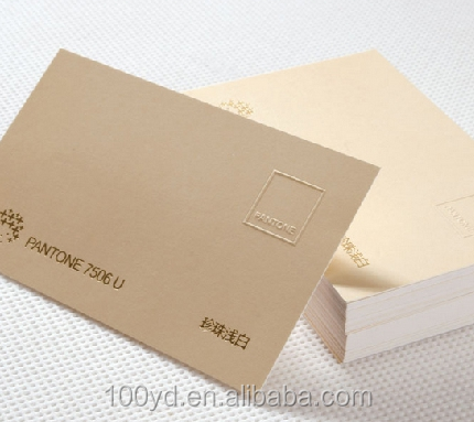 Popular products art board paper cotton business cards letterpress in usa