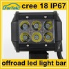 12v-24v genuine cree 18W led light bars for off-road mini led worklight
