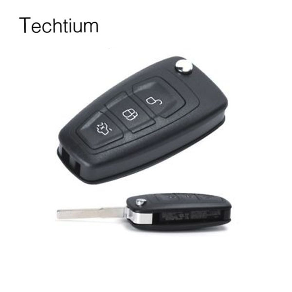 Best price No windows auto function Key for auto Ford Mondeo remote key for ford smart key 433Mhz with OEM 4D60 chip