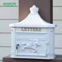 2018 hot sale cast aluminum letter box, water proof japanese mailbox, german mailbox