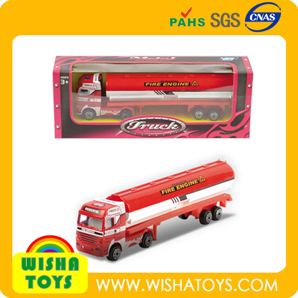1 43 scale diecast metal gas oil fuel tank truck