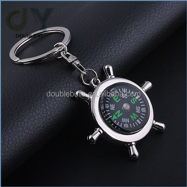 Promotional Metal Keychain Compass Keychain Wholesale