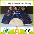 New style Spanish wood folding fan for promotion