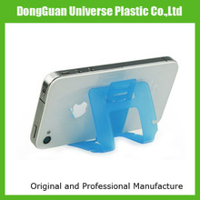Plastic foldable mobile tablet stand