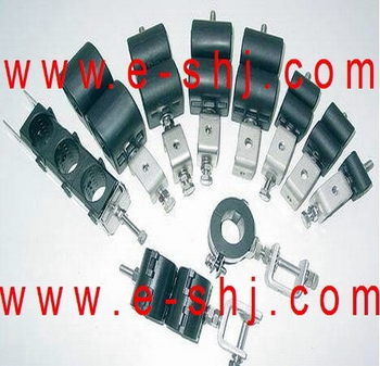 feeder cable clamp, RF feeder clamp, hanger clamp, Feeder Cable Hanger