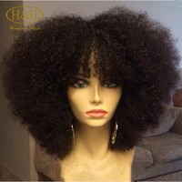 Unprocessed Wholesale Raw Virgin Weave Natural Black Color Cheap 100 Remy Human Hair extension Afro Kinky Curly Brazilian Hair