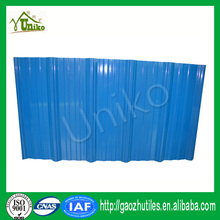 anti-climate low price different color painted pvc roofing