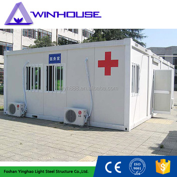 steel structure hospital container