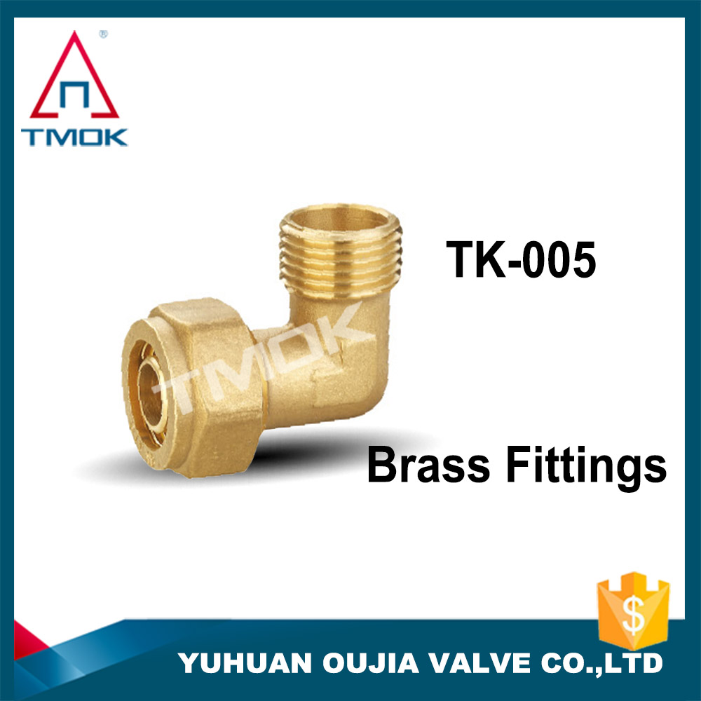 TMOK compression fittings nozzle G1/4 thread suit for tubing water cooling computer