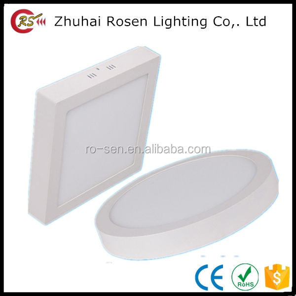 sky ceiling panel 6w 12w 18w 24w round LED surface mounted downlight panel light
