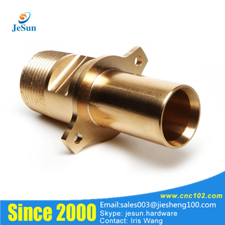 Custom Made Connectors : Precision products custom made brass turning