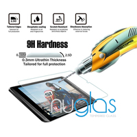 Hot selling!! anti-radiation explosion-proof 0.3mm/2.5D tempered glass screen protector for 7 inch tablet