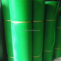 plastic flat net make by hot plastic coating machine