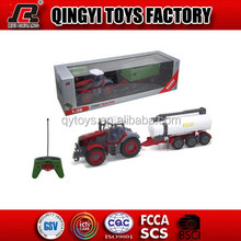 HOT!RC Toy Tractor Wheels 1:28 6CH RC Farm Tractor with good quality and license toys