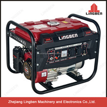 Lingben China Zhejiang 6.5hp power gasoline generator set LB3900DX-A
