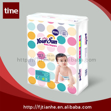 Washable cotton baby snaps diapers factory in China