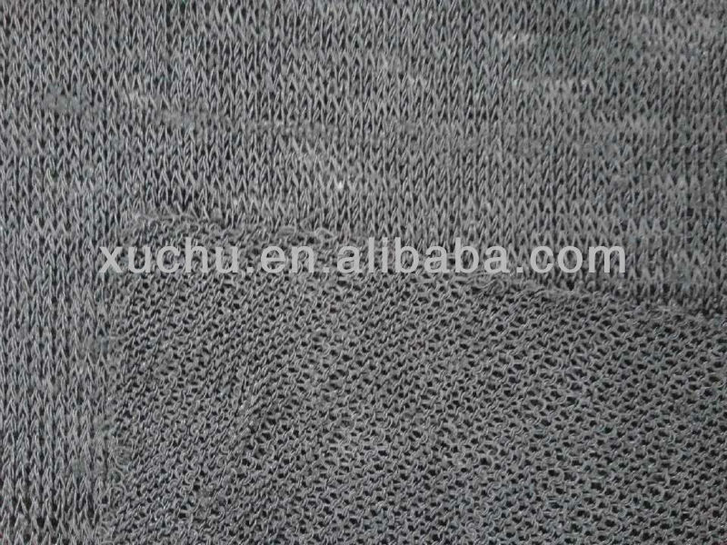 95%polyester 5%spandex angola single jersey knitted fabric