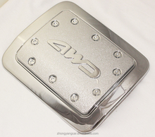 high quality ABS Chromed Plating Oil Tank Cover PAJERO V73 2001 fuel tank cap car accessories