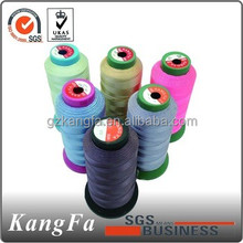 Factory supply nylon bonded thread for sport shoes and leather products