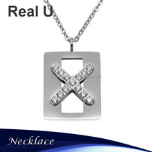 Dubai Synthetic Diamond Necklace Pendant