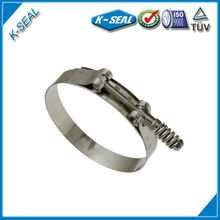 Stainless Steel T-Bolt Band Spring Hose Clamps KTBSG250SS