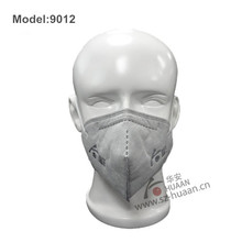 Industrial working nonwoven folding dust mask