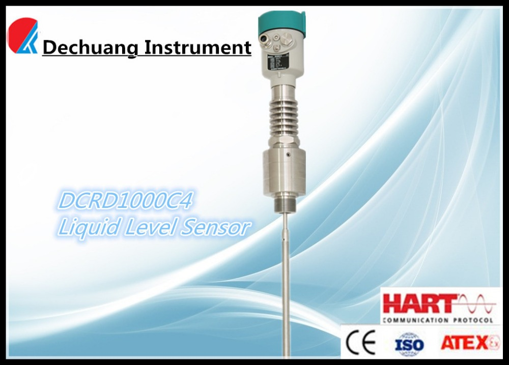 high temperature and pressure resistence level sensor heat boiler water tank level meter Guided wave probe level gauge