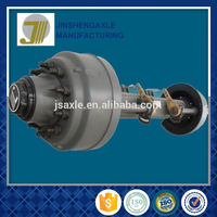 Black Small Trailer Agricultural Axle
