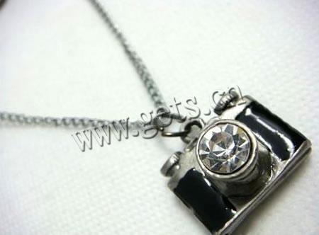 Zinc Alloy Camera Hidden Camera Necklace 535171