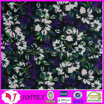 custom print 82 nylon 18 spandex 4 way stretch swimwear fabric