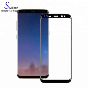 For S8 Tempered Glass, for Samsung Galaxy S8 Tempered Glass Screen Protector 3D Fully Curved