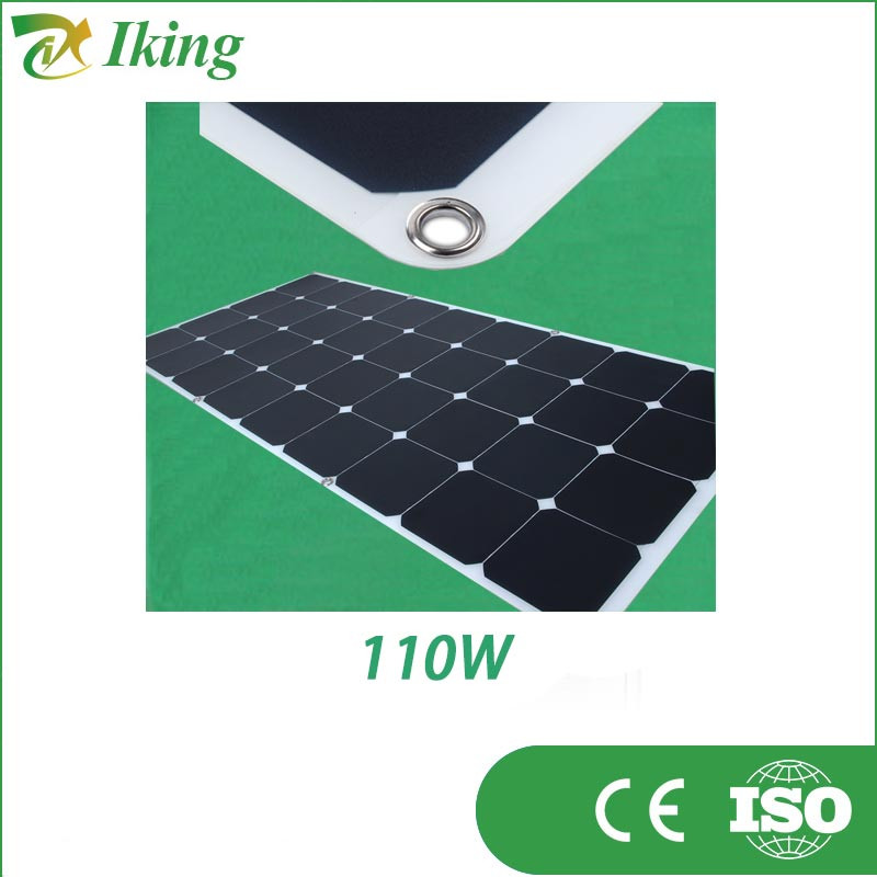High Efficiency 100W 18V Sunpower Flexible Solar Panel