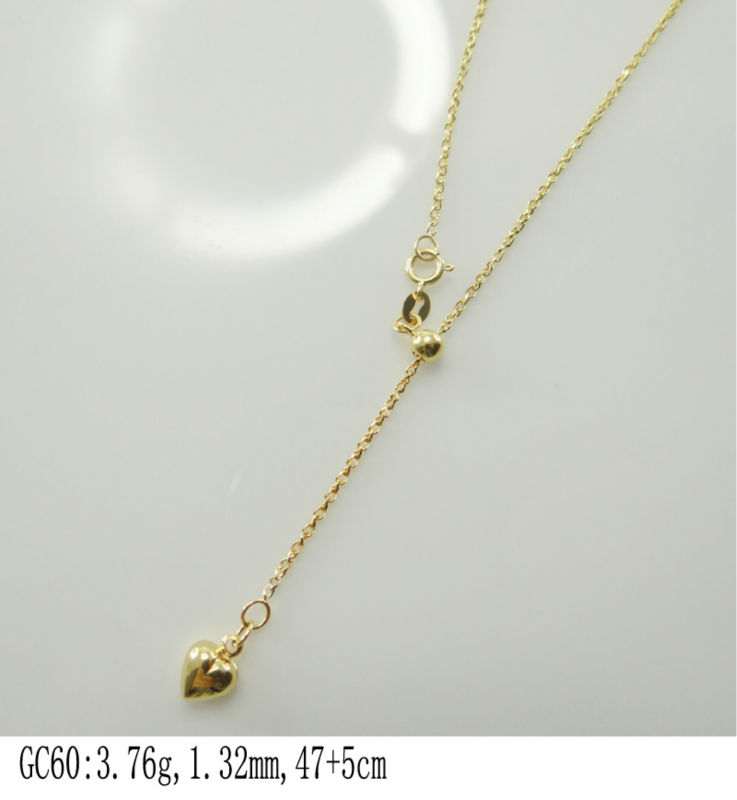 wholesale fashion 18k yellow gold chain,Fine Quality Jewelry chain,sex chains -GC60