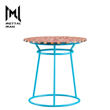 Living room Simple fancy furniture centre table modern round side table