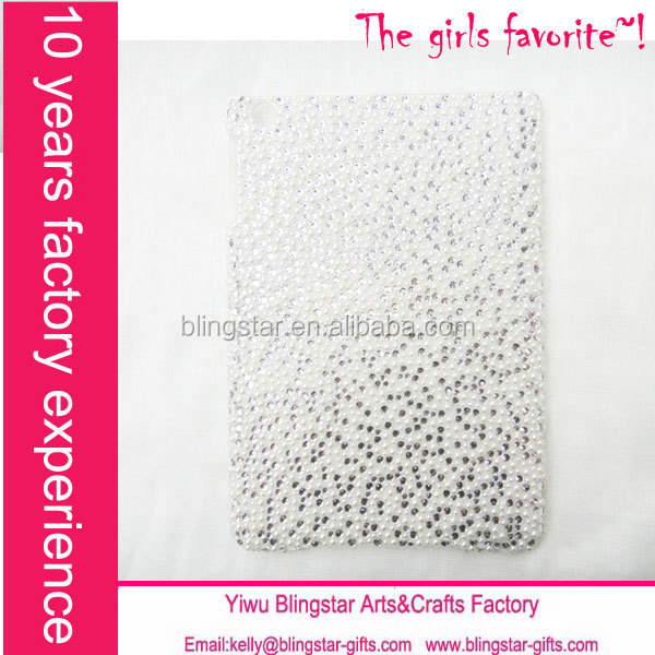 hot selling pearl rhinestone for ipad mini case