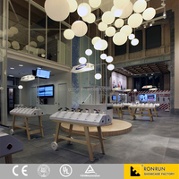 Mobile phone retail store interior decoration customized display furniture MDF display showcase