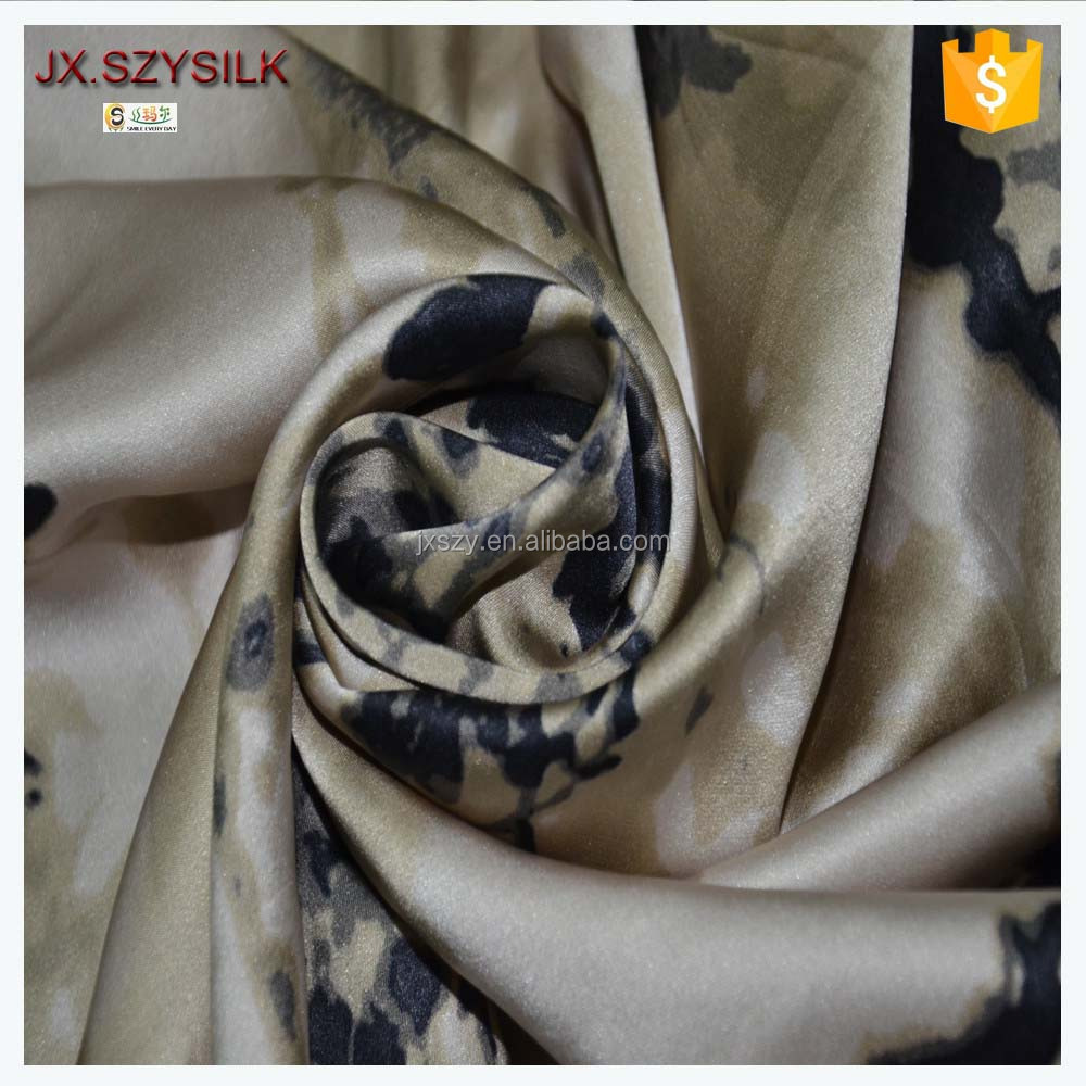 Dress Design Wedding decoration satin fabric plain satin silk