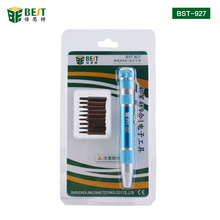 BEST-927 9 in 1 Small Screwdriver Set Disassemble Tool for Phone Repair S2 material screwdriver bits