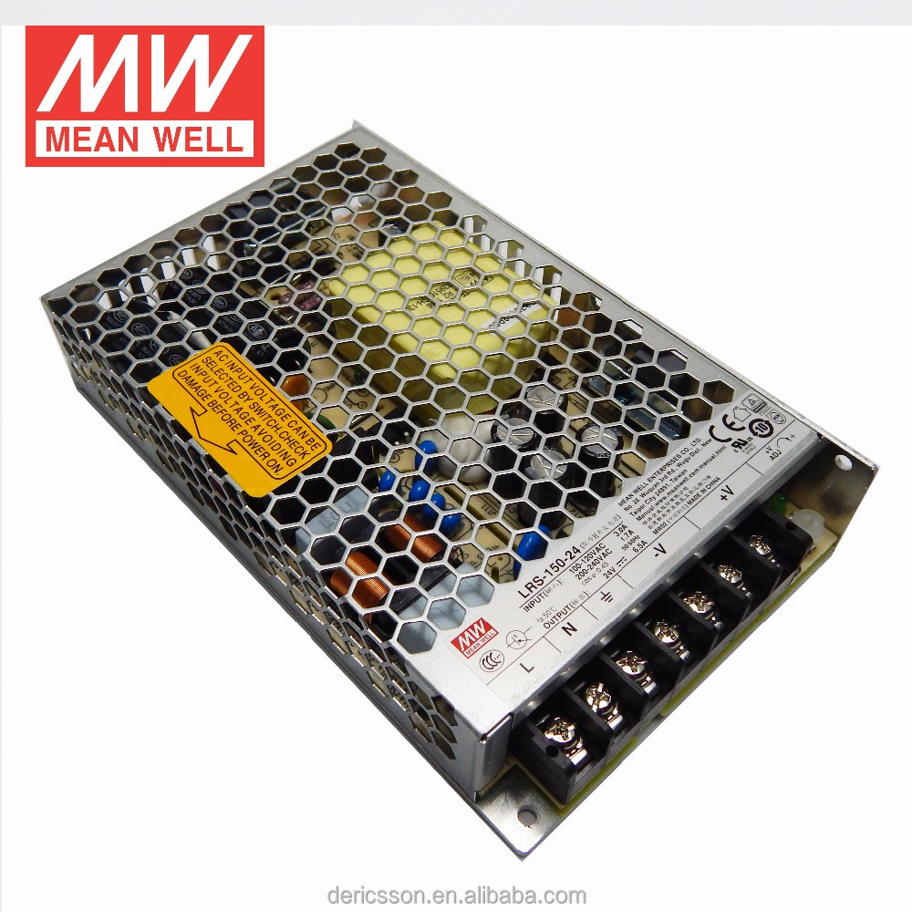 MEAN WELL 1u power supply 24v 6a power supply LRS-150-24