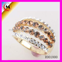NEW DESIGN GOLD RINGS FOR WOMEN 2014 BISUTERIA