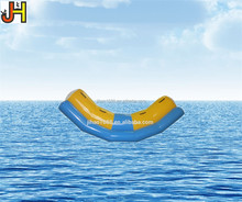 Durable PVC Tarpaulin Inflatable Water Seesaw For Water Park